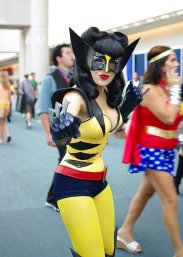 SDCC2014 cosplay - female Wolverine