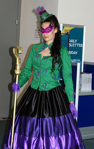 SDCC2014 cosplay - Lady Riddler