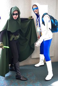 SDCC2014 cosplay - Pied Piper and Captain Cold