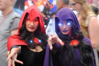SDCC2014 cosplay - ravens