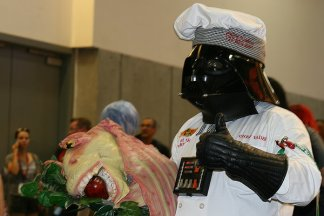SDCC2014 cosplay - Vader's cooking