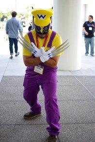 SDCC2014 cosplay - Wario Wolverine