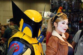 SDCC2014 cosplay - Wolverine Fett