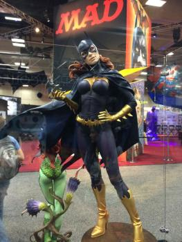 SDCC2014 Sideshow display - Batgirl