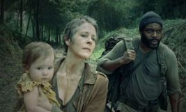 the walking dead carol and tyrese