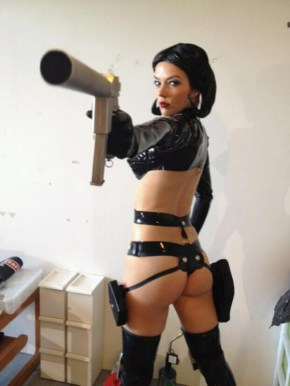 adrianne-curry hot cosplay aeon flux