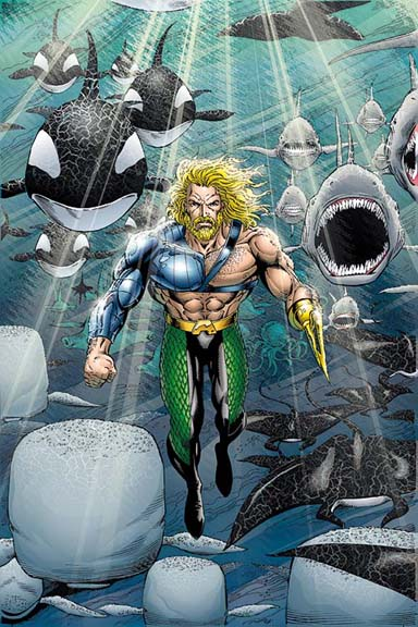 Aquaman fish army