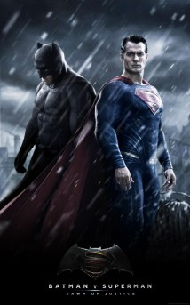 batman v superman fan mock up