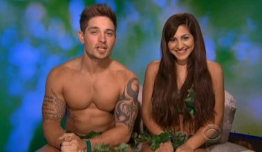 bb16 caleb and victoria as adam and eve