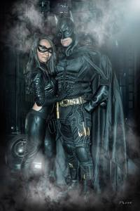 Cosplay Confidential Kim as Catwoman with Batman