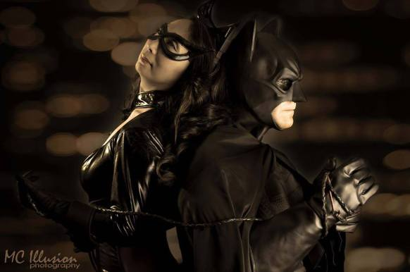 Cosplay Confidential Kim as Catwoman with Batman2