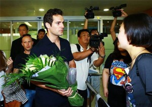 Henry Cavill and Man of Steel fans