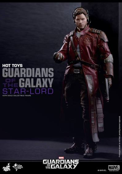 Hot Toys Guardians of the Galaxy - Star Lord blurred face