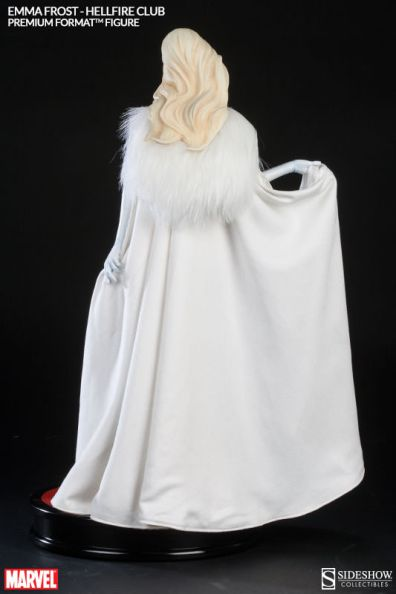 Sideshow Premium Format Emma Frost Hellfire Club - back shot