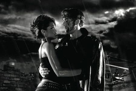 sin city 2005 - rosario dawson and clive owen