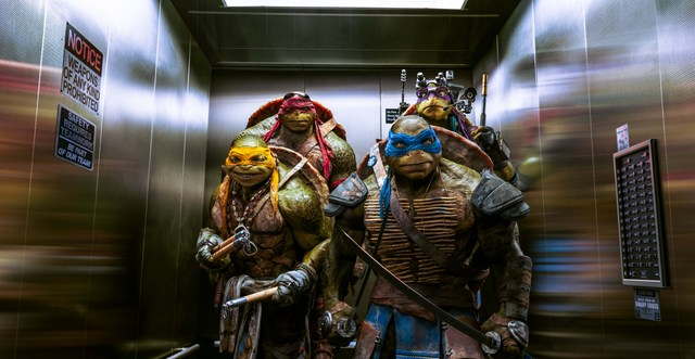 Teenage Mutant Ninja Turtles Industrial Light & Magic / Paramount Michelangelo, Raphael, Leonardo, and Donatello