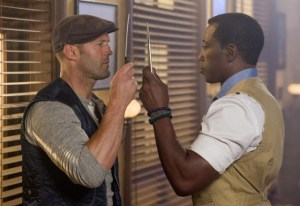 Phil Bray/Lionsgate Publicity Lee Christmas (Jason Statham, left) and Doc (Wesley Snipes)
