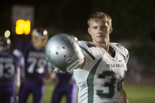 Alexander Ludwig in TriStar Pictures' WHEN THE GAME STANDS TALL.