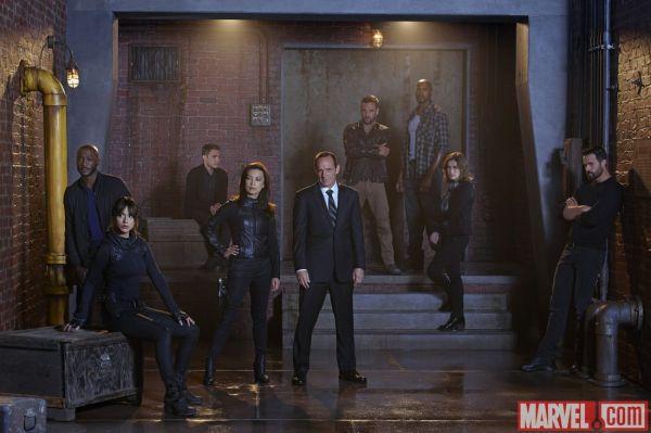 Agents of S.H.I.E.L.D. - season 2 cast pic