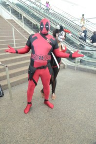 Baltimore Comic Con 2014 - Deadpool and Harley Quinn