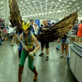 Baltimore Comic Con 2014 - Hawkgirl
