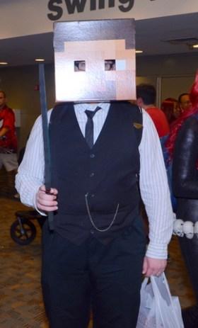 Baltimore Comic Con 2014 - Minecraft
