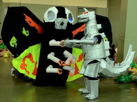 Baltimore Comic Con 2014 - Mothra vs Mecha Godzilla