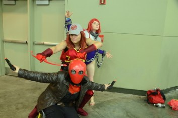 Baltimore Comic Con 2014 - Red Hood and the Outsiders