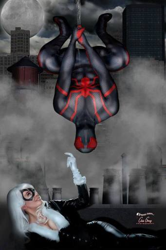 Cosplay Confidential - Jewels Hardy as Black Cat with Spidey 2099