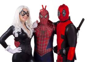 Cosplay Confidential - Jewels Hardy with Spidey and Deadpool