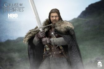 Game of Thrones Ned Stark holding broadsword