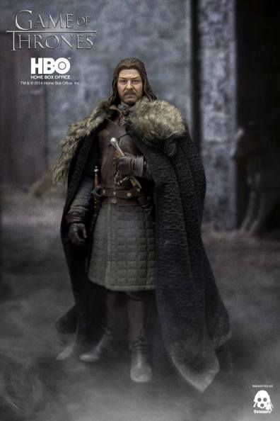Game of Thrones Ned Stark holding sword