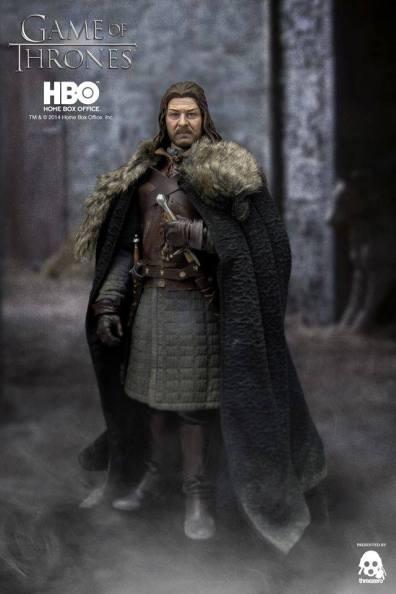 Game of Thrones Ned Stark holding sword