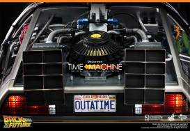 Hot Toys Back to the Future DeLorean rear