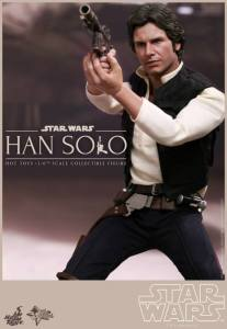 Hot Toys Star Wars Han Solo - aiming