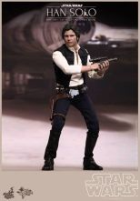 Hot Toys Star Wars Han Solo - holding gun