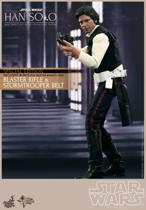 Hot Toys Star Wars Han Solo - with stormtrooper accessories