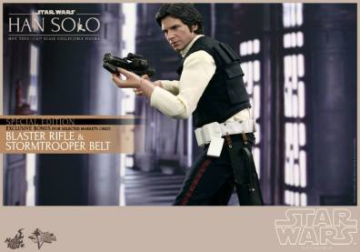 Hot Toys Star Wars Han Solo - with stormtrooper exclusive