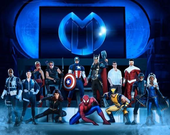 Marvel Live promo poster
