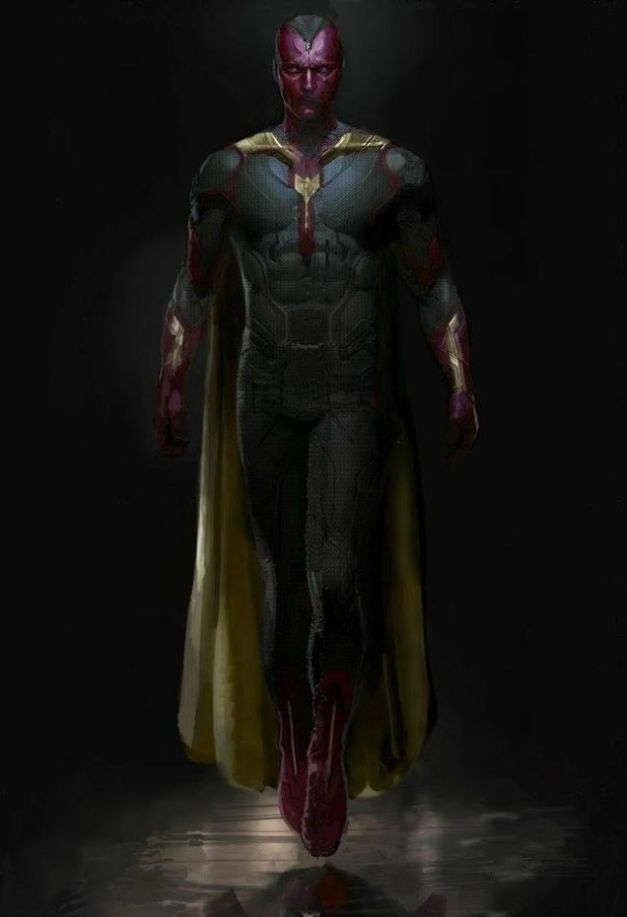 Vision concept art for Avengers Age of Ultron