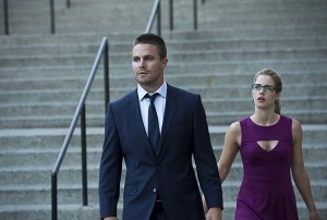 Arrow - Season 3 - The Calm - Oliver and Felicity