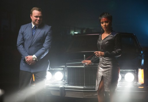 Gotham ep. 4 Arkham - Butch and Fish Mooney
