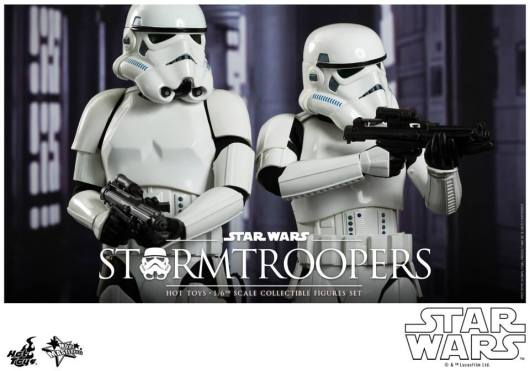 Hot Toys Stormtroopers set -taking aim