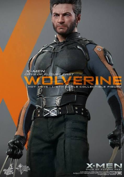 Hot Toys X-Men DOFP Wolverine - close up