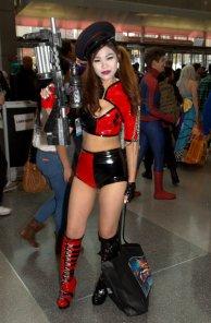 NYCC2014 cosplay - Harley Quinn Arkham