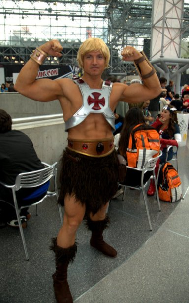 NYCC2014 cosplay - He-Man