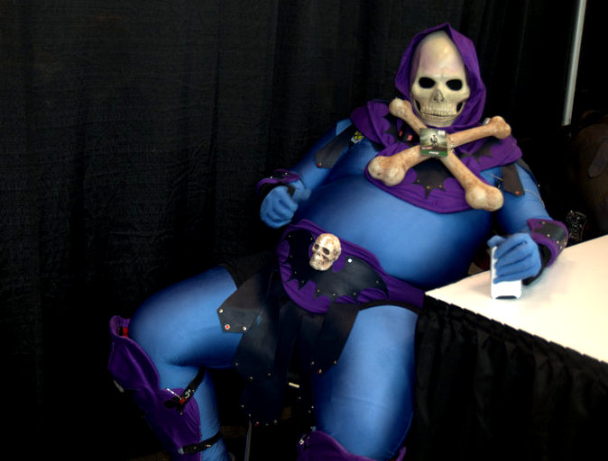 NYCC2014 cosplay - Skeletor