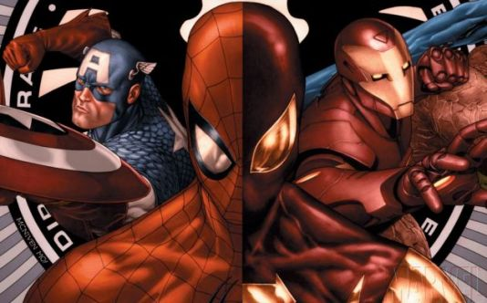 Spiderman-vs-Iron-Man