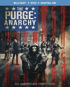 The Purge Anarchy blu ray cover