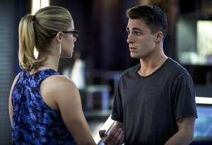 Arrow - Guilty - Felicity and Roy
